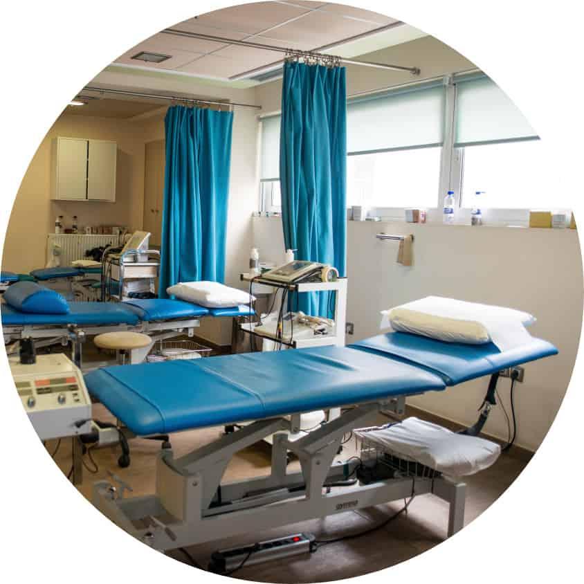 Χώρος φυσικοθεραπειών Χειροθεραπευτικής
